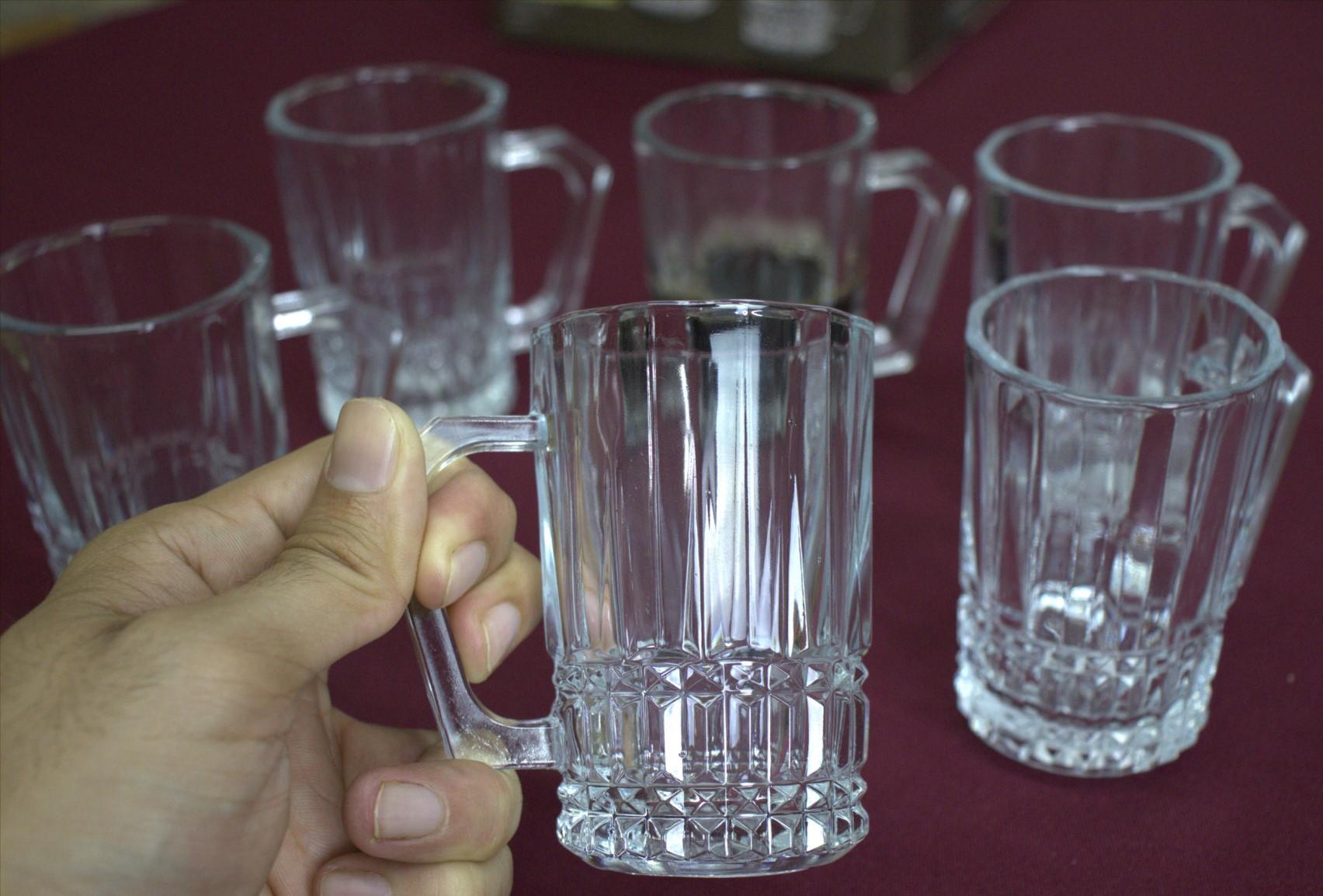xícara de café vidro 6 unidades 160mL caneca de cafe nespesso dolcegusto