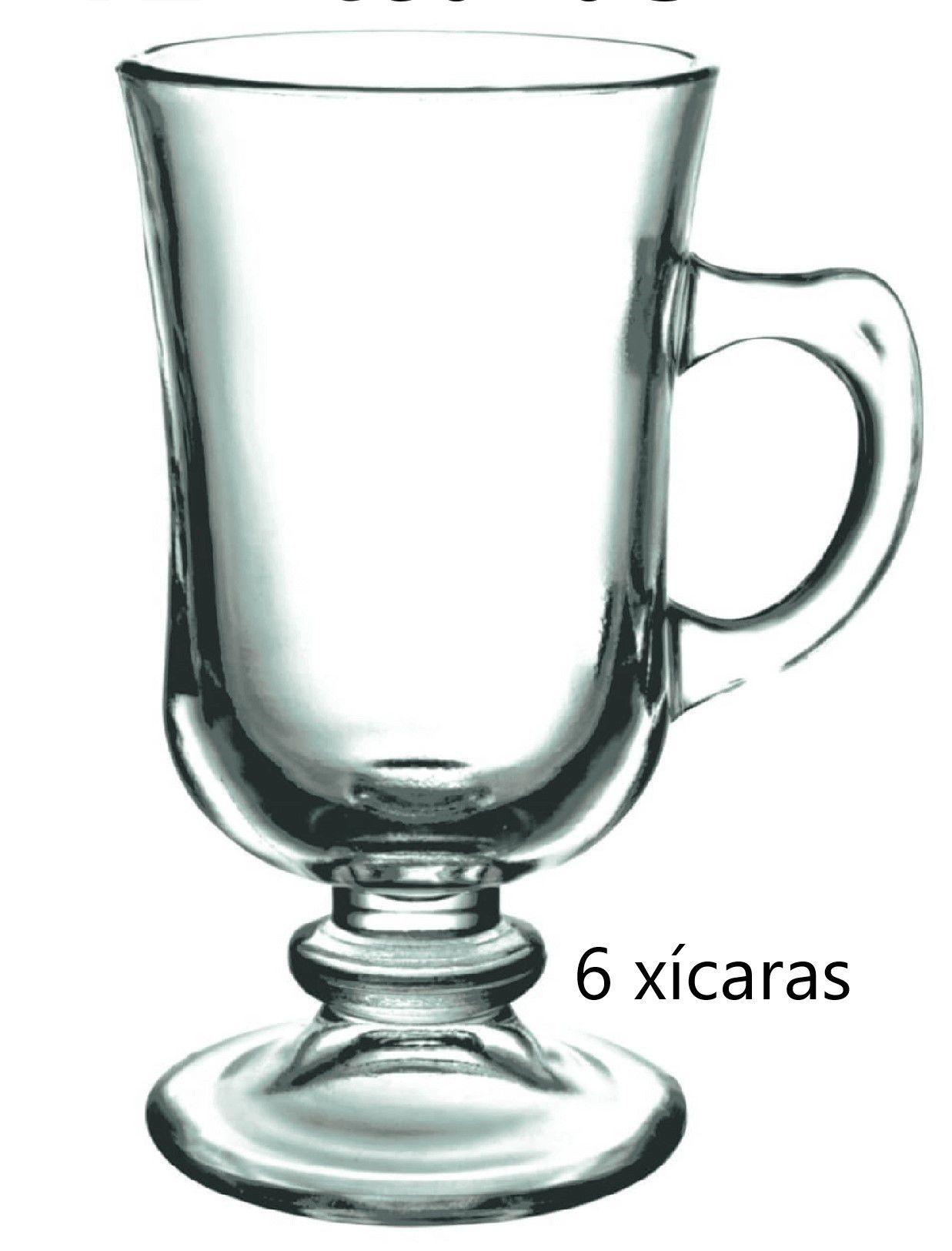 xícara de vidro café 6 unidades 120mL caneca de cafe nespesso dolcegusto