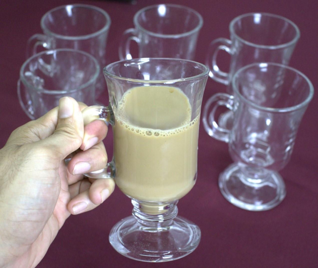 xícara de vidro café 6 unidades 230mL caneca de cafe nespesso dolcegusto