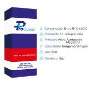 FEMIGESTROL 160MG CX C/30 COMPR (S) (BERGAMO/AMGEN)