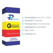 Temozolomida 100 - cx com 5 cápsulas - (G) (Eurofarma)