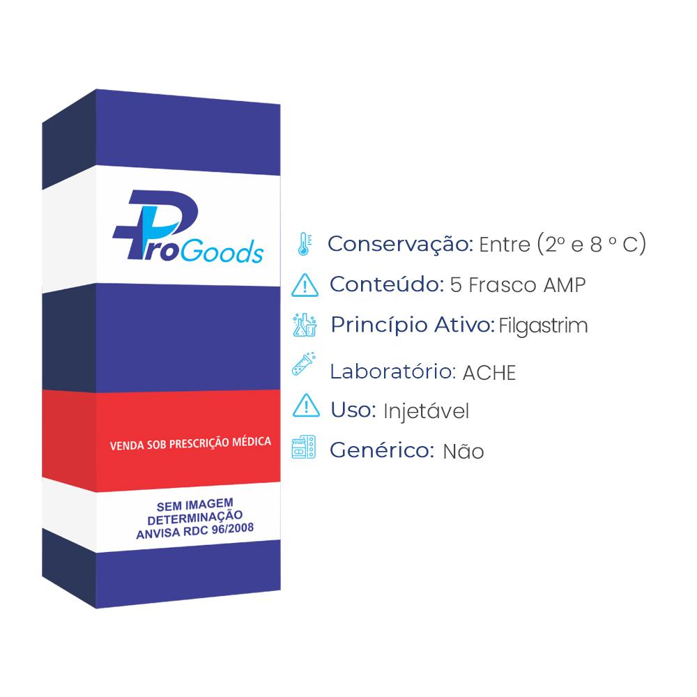 FILGRASTIM 300 MCG/ML AMPOLA 1 ML INJETAVEL (R) (BLAU)  - ProGoods