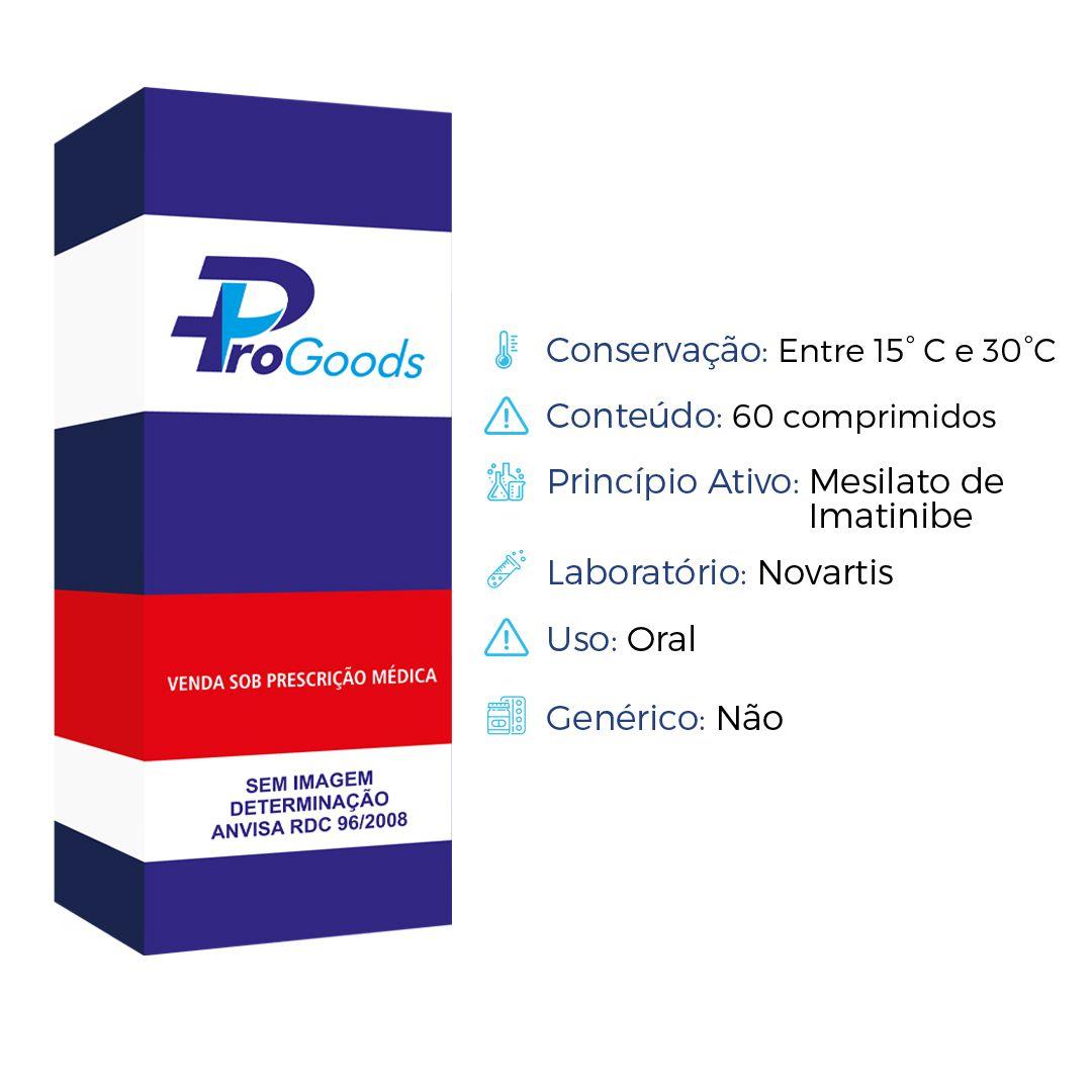 GLIVEC 100 MG CX C/60 CAPS (R) (NOVARTIS)  - ProGoods