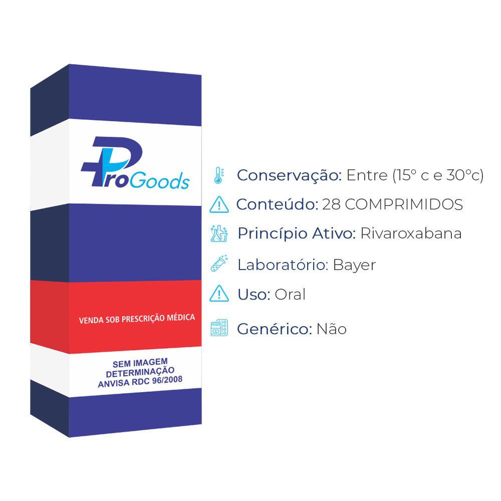 XARELTO 20MG CX 28 COMPRIMIDOS REVESTIDOS (R) (BAYER)  - ProGoods