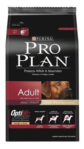 Ração Nestlé Purina Proplan Cães Adult Raças Grandes 15kg