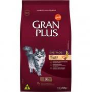 Ração Affinity PetCare GranPlus Frango e Arroz para Gatos Castrados Adultos- 10 pacotes de 1,01 Kg
