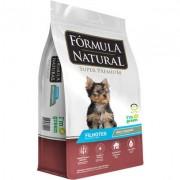 Ração Fórmula Natural Super Premium para Cães Filhotes Raças Minis e Pequenas 7KG