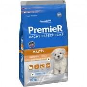 Ração Premier Pet Raças Específicas Maltês Filhotes - 1KG