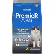 Ração Premier Seleção Natural para Gatos Castrados Até 7 Anos Sabor Frango- 1,5KG