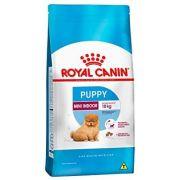 Ração Royal Canin Mini Indoor Junior para Cães Filhotes de Raças Pequenas em Ambientes Internos - 7,5kg