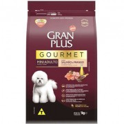 Ração Seca Affinity Gran Plus Gourmet Salmão & Frango para Cães Adultos Raças Mini 1KG