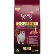 Ração Seca Affinity GranPlus Gourmet Ovelha & Arroz para Gatos Castrados- 10 pacotes de 1,01 Kg