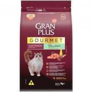 Ração Seca Affinity GranPlus Gourmet Peru & Arroz para Gatos Castrados 1KG
