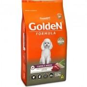 Ração Seca PremieR Pet Golden Formula Carne e Arroz para Cães Adultos de Raças Pequenas- 15kg