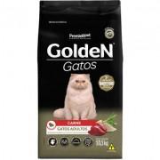 Ração Seca PremieR Pet Golden Gatos Adultos Carne- 10,1KG