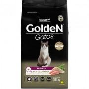 Ração Seca PremieR Pet Golden Gatos Adultos Castrados Frango- 10,1KG