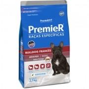 Ração Seca Premier Pet Raças Específicas Bulldog Francês para Cães Adultos- 2,5KG