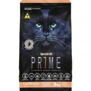 Ração Special Cat Prime Salmão e Arroz para Gatos Adultos Castrados 3KG