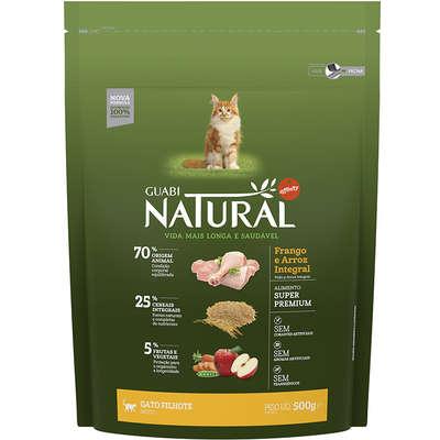 Ração Affinity Guabi Natural Frango e Arroz Integral para Gatos Filhotes 1,5KG