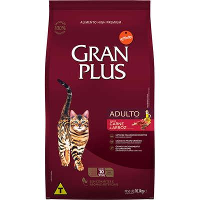 Ração Affinity PetCare GranPlus Carne e Arroz para Gatos Adultos 10,1KG