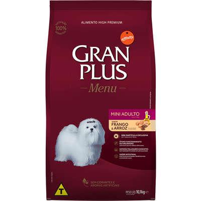 Ração Affinity PetCare GranPlus Frango e Arroz para Cães Adultos Mini 10,1KG
