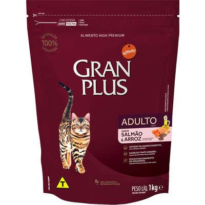 Ração Affinity PetCare GranPlus Salmão e Arroz para Gatos Adultos 1KG