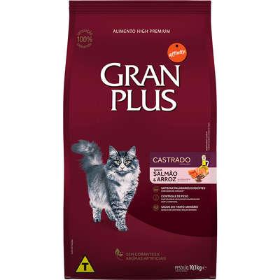 Ração Affinity PetCare GranPlus Salmão e Arroz para Gatos Castrados Adultos 10,1KG