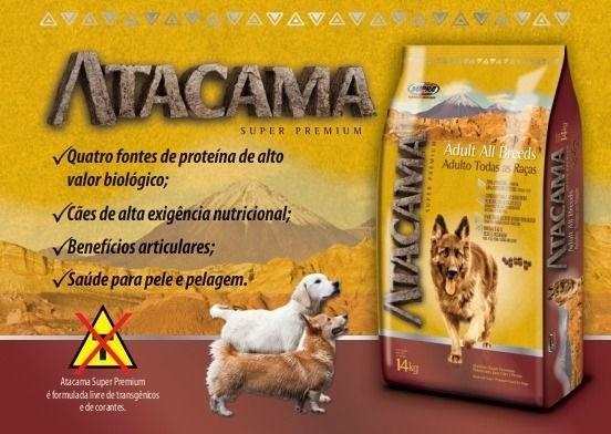 Ração Atacama Adultos Todas As Raças 20 Kg