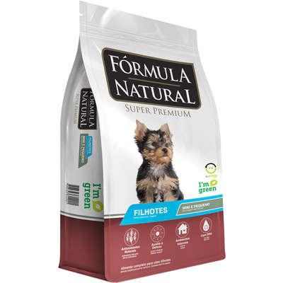 Ração Fórmula Natural Super Premium para Cães Filhotes Raças Minis e Pequenas 2,5KG