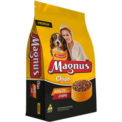 Ração Magnus Chips para Cães Adultos 15KG