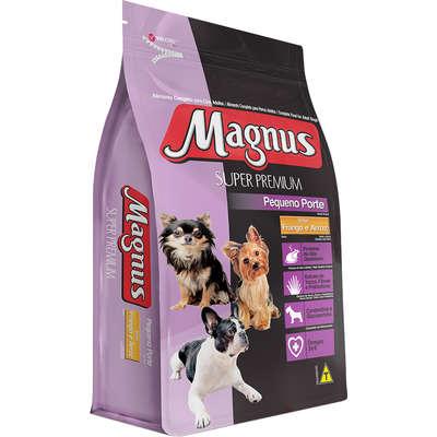 Ração Magnus Super Premium Frango e Arroz para Cães Adultos de Pequeno Porte 10,1KG