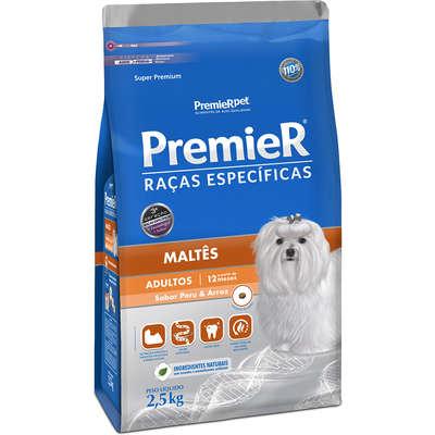 Ração Premier Pet Raças Específicas Maltês Adulto- 2,5KG