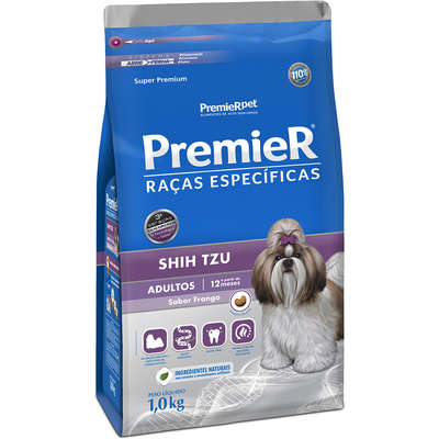 Ração Premier Pet Raças Específicas Shih Tzu Adulto- 1KG