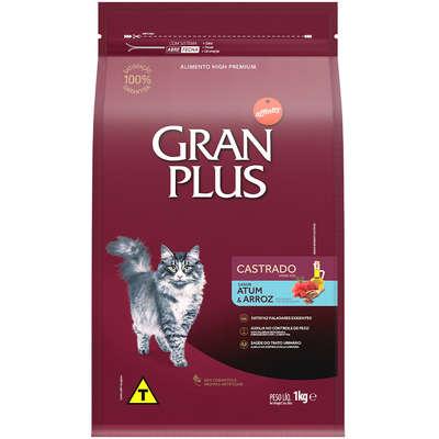 Ração Seca Affinity GranPlus Atum & Arroz para Gatos Castrados 1KG