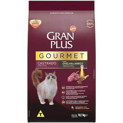 Ração Seca Affinity GranPlus Gourmet Ovelha & Arroz para Gatos Castrados 10,1KG