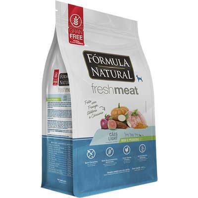 Ração Seca Fórmula Natural Fresh Meat Cães Light Raças Mini e Pequena 2,5KG