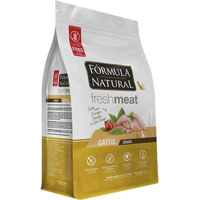Ração Seca Fórmula Natural Fresh Meat Gatos Sênior 7KG