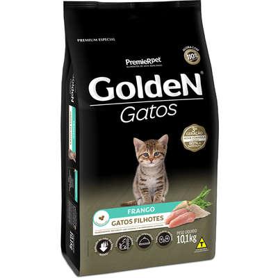 Ração Seca PremieR Pet Golden Gatos Filhotes Frango- 10,1KG