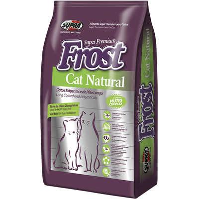 Ração Seca Supra Frost Cat Natural Gatos Adultos 7,5KG