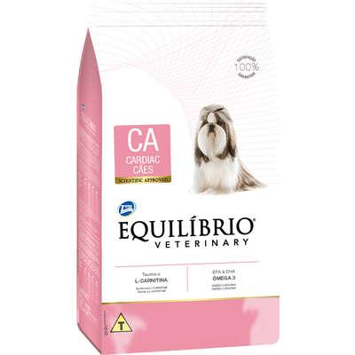 Ração Seca Total Equilíbrio Veterinary CA Problemas Cardíacos para Cães Adultos 7,5KG