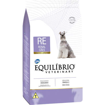 Ração Seca Total Equilíbrio Veterinary RE Renal Cães Adultos 7,5KG