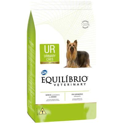 Ração Seca Total Equilíbrio Veterinary UR Urinary Tratamento Urinário para Cães Adultos 2KG