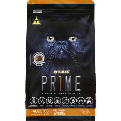 Ração Special Cat Prime Frango e Arroz para Gatos Adultos- 3KG