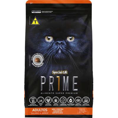 Ração Special Cat Prime Salmão e Arroz para Gatos Adultos-  3KG