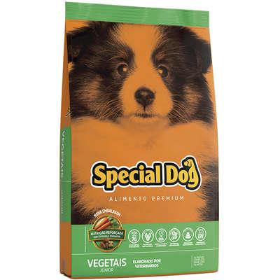 Ração Special Dog Júnior Premium Vegetais para Cães Filhotes- 3KG