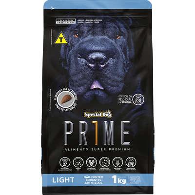 Ração Special Dog Prime Light para Cães Adultos- 1KG