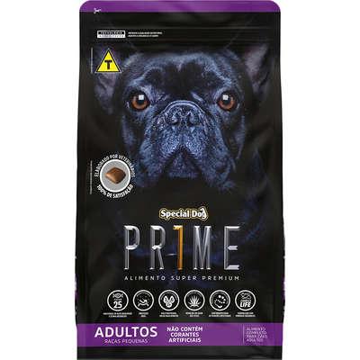Ração Special Dog Prime para Cães Adultos de Raças Pequenas- 3KG