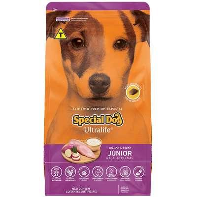 Ração Special Dog Ultralife para Cães Filhotes de Raças Pequenas- 15KG