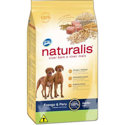 Ração Total Naturalis Frango e Peru para Cães Adultos 15KG