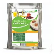 Farinha De Amendoas Pura 1kg + Eritritol Puro 1kg Com Laudo